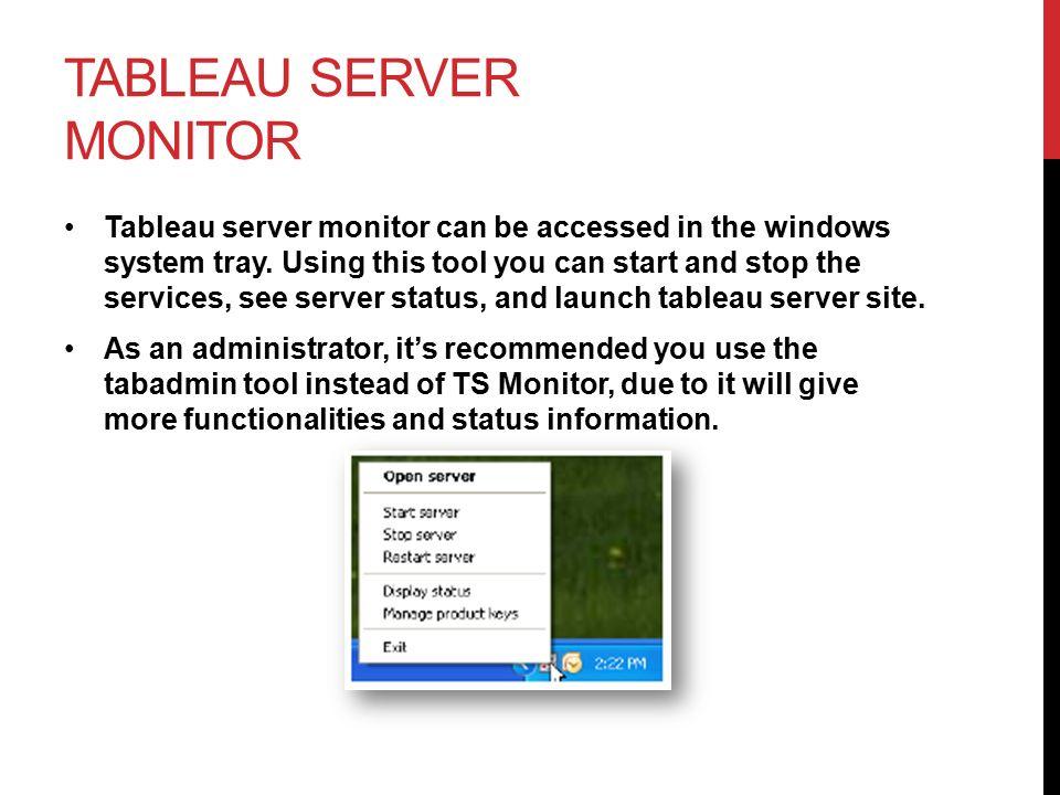 Tableau Server Training Ppt Video Online Download