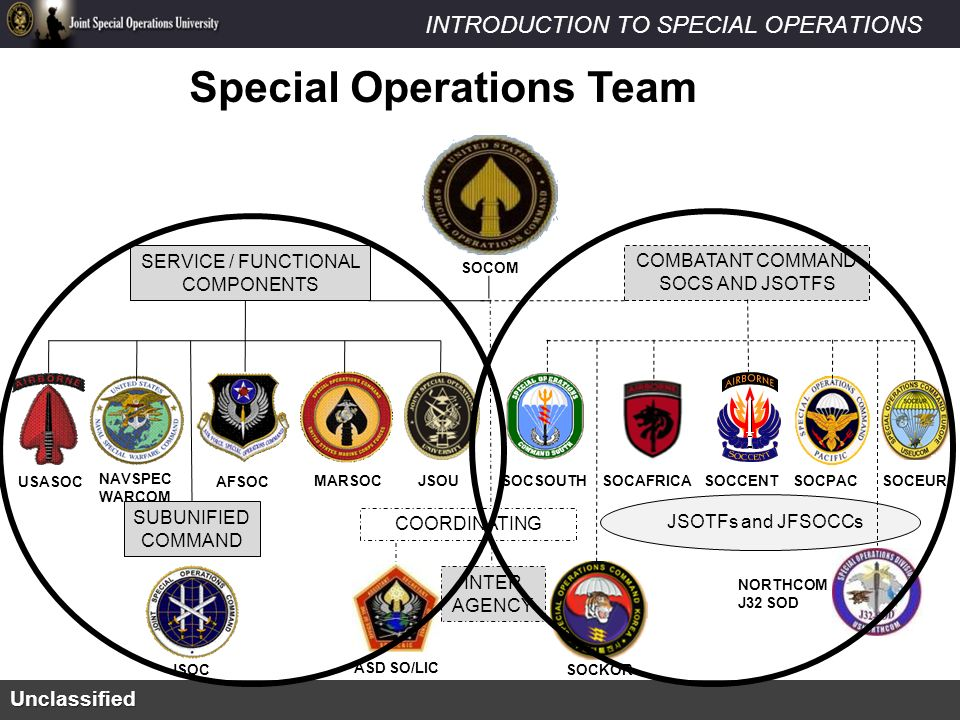 Theater Special Operations Commands - ppt video online download
