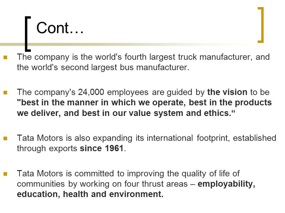 business ethics of tata motors