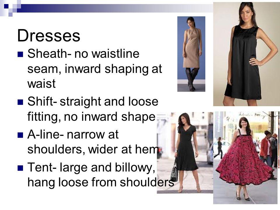 No Waistline Dresses
