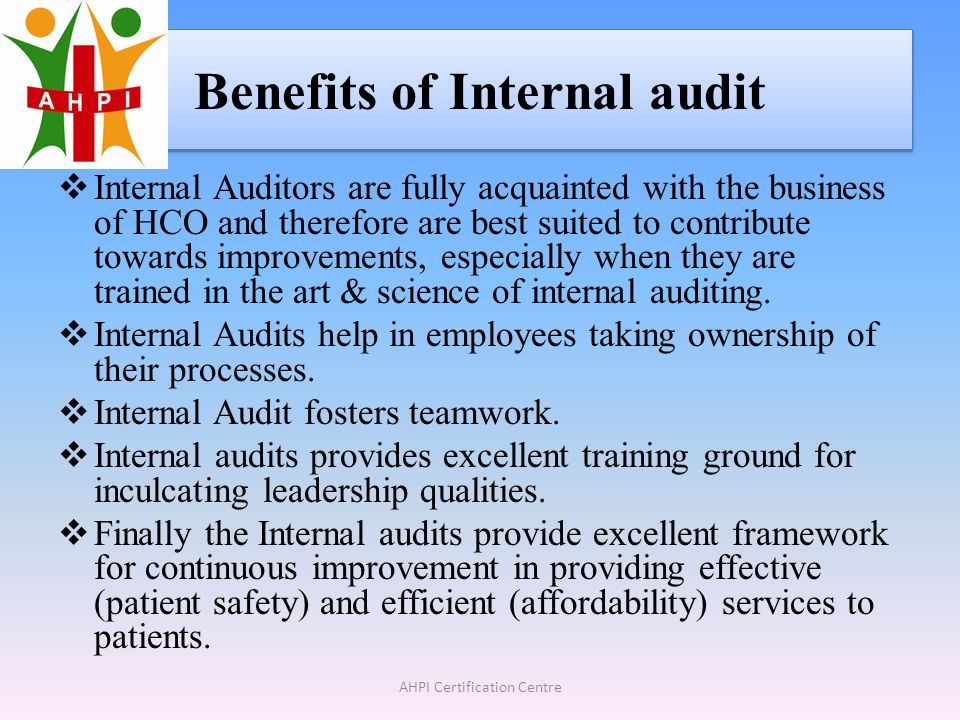 Certified Internal Auditor Nabh Ppt Download