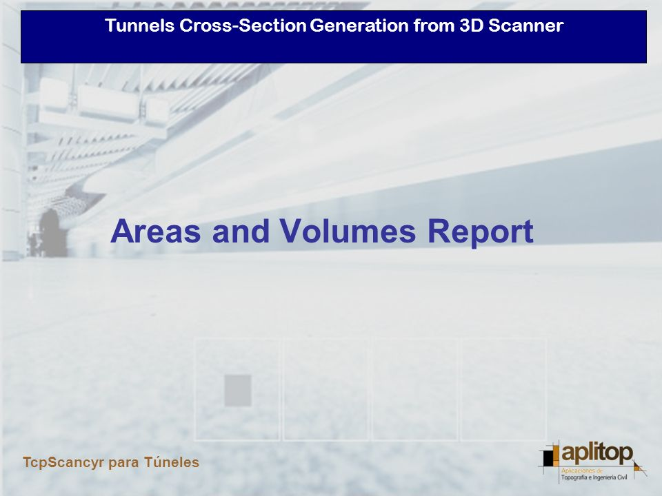 Areas and Volumes Report