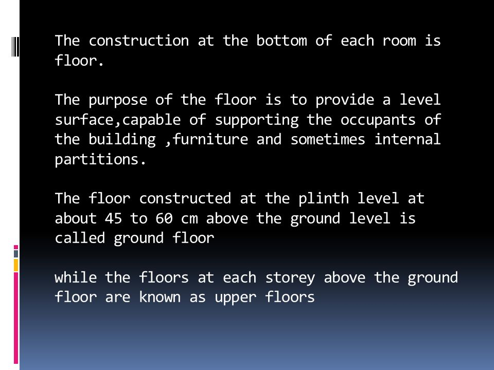 Floorings Ppt Video Online Download