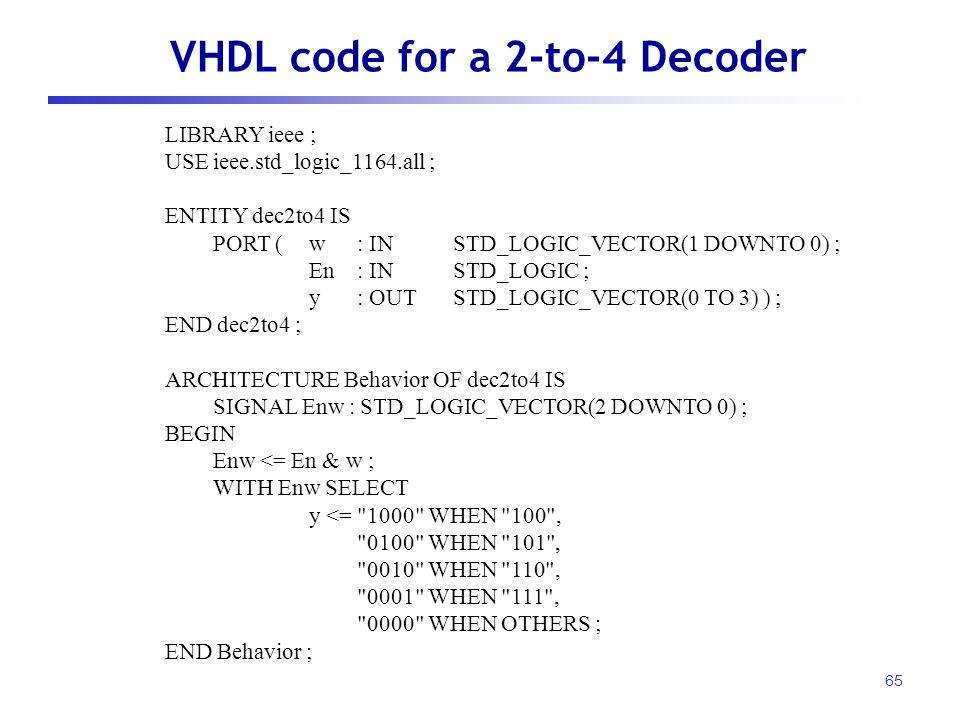VHDL 표현방식  - ppt download