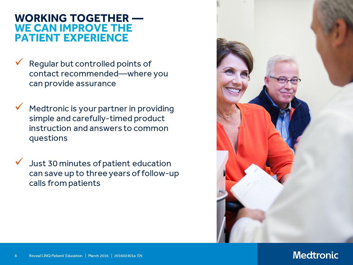 Reveal linq™ Optimizing patient education - ppt download