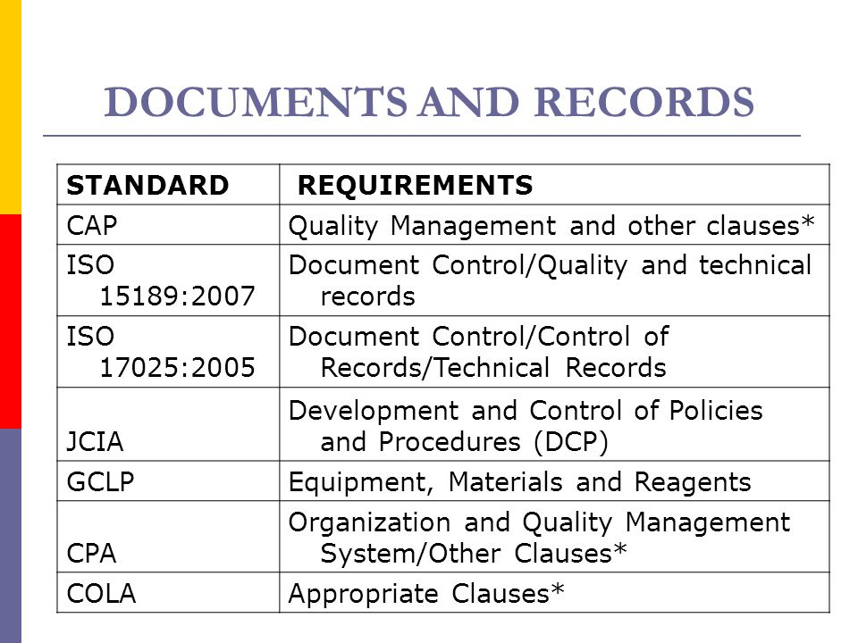 iso 15189 quality policy statement