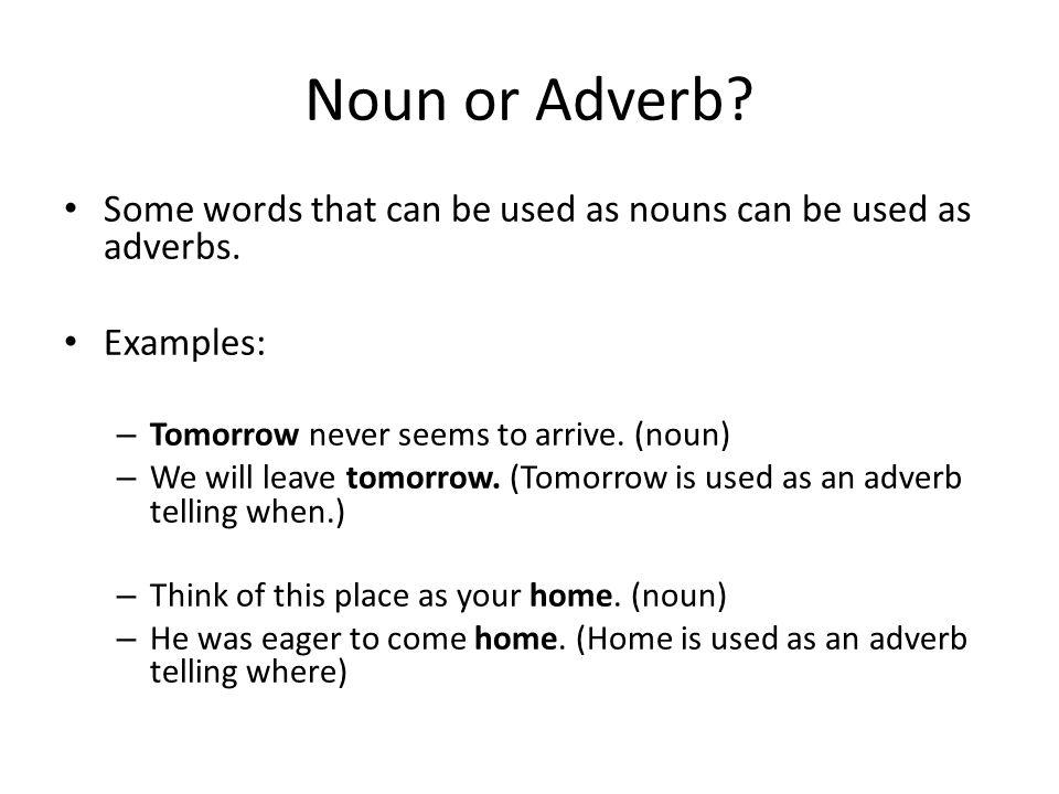 Compound nouns.