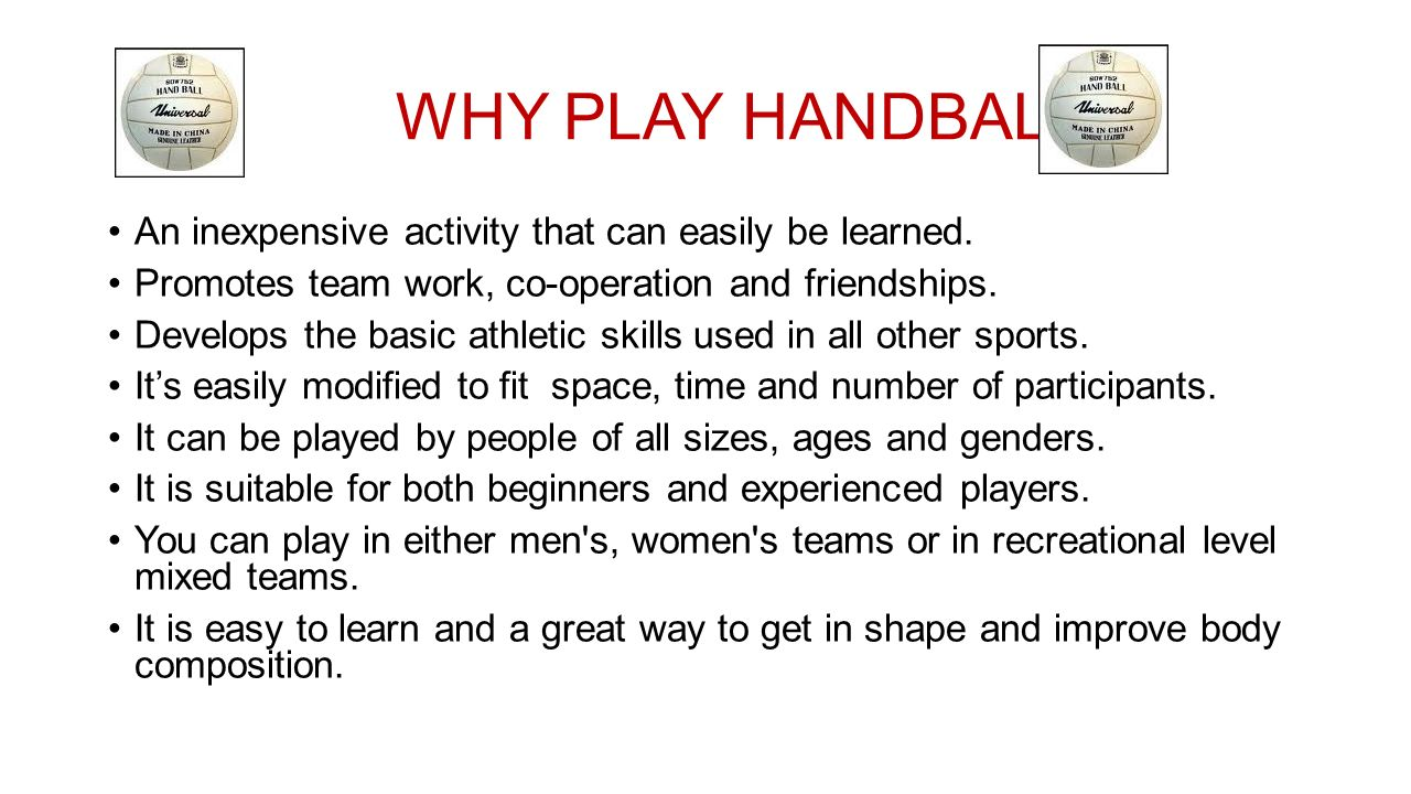images How to Play Handball