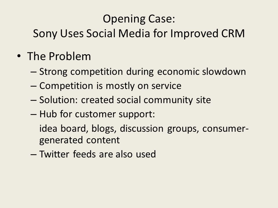 16 case studies that prove social crm There are loads of studies which show that marketers struggle with measuring roi from social media for example (it's worth noting that i think these studies all refer to organic social rather than paid social, with the latter being more measurable as it works pretty much like any other direct response ad.