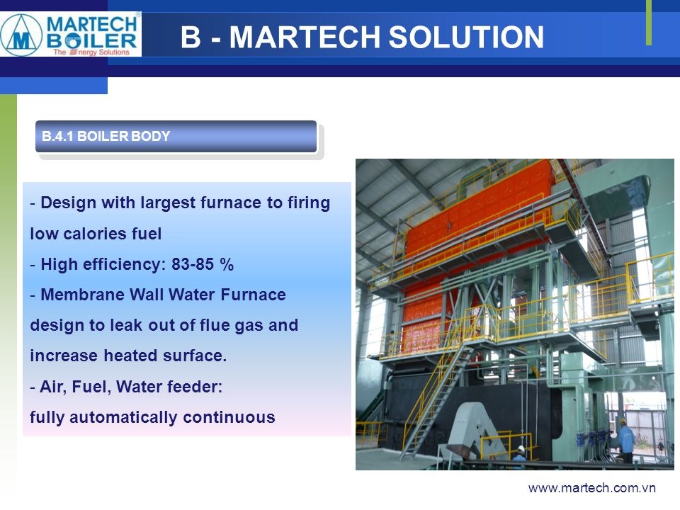 Welcome To MARTECH BOILER - ppt video online download