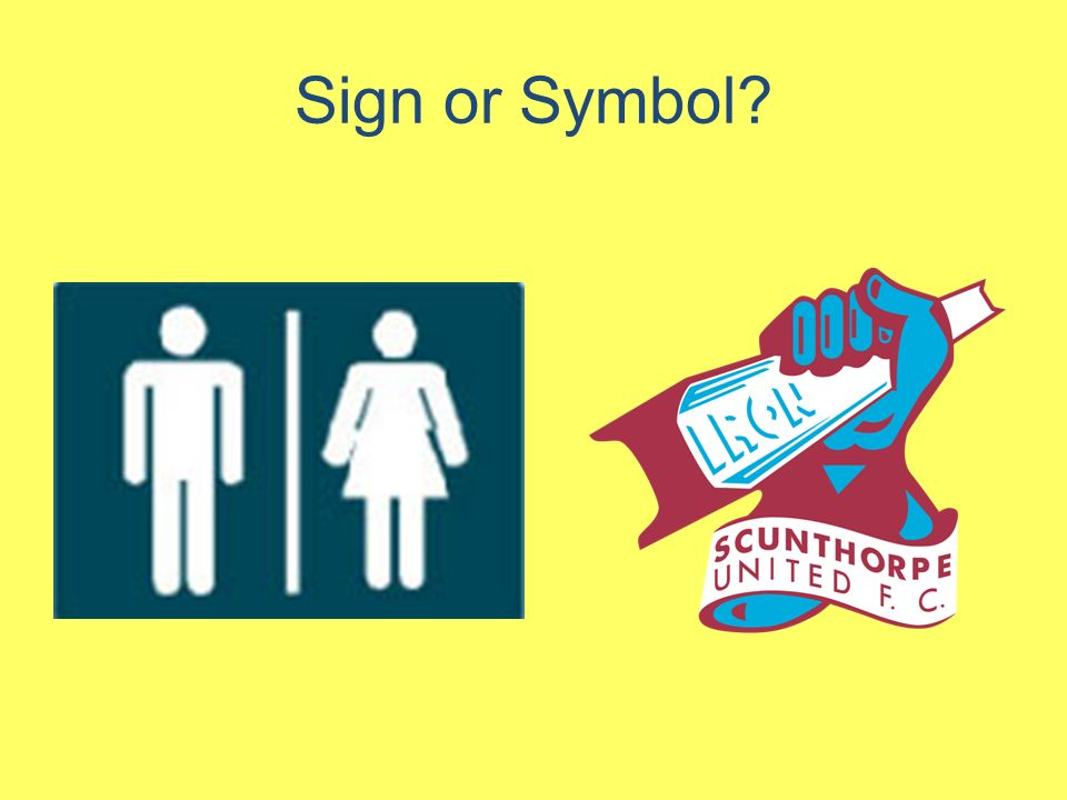 Signs And Symbols We Are Learning To Ppt Video Online Download