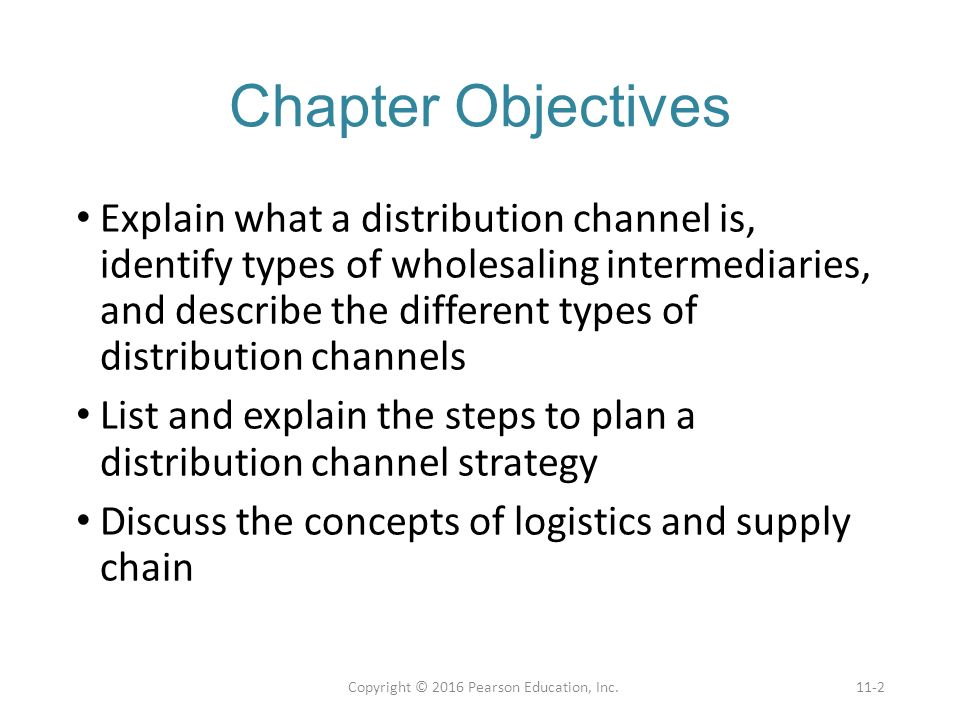 explain the nature of channels of distribution