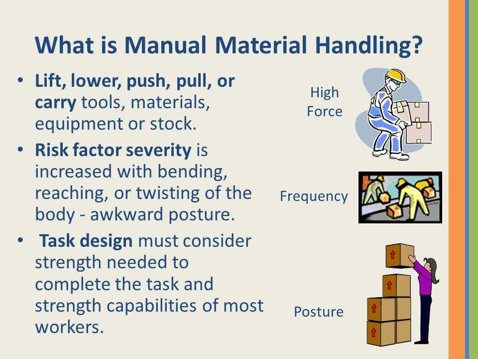 What is Manual Material Handling