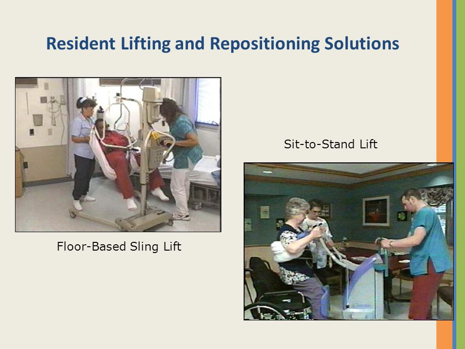 Resident Lifting and Repositioning Solutions
