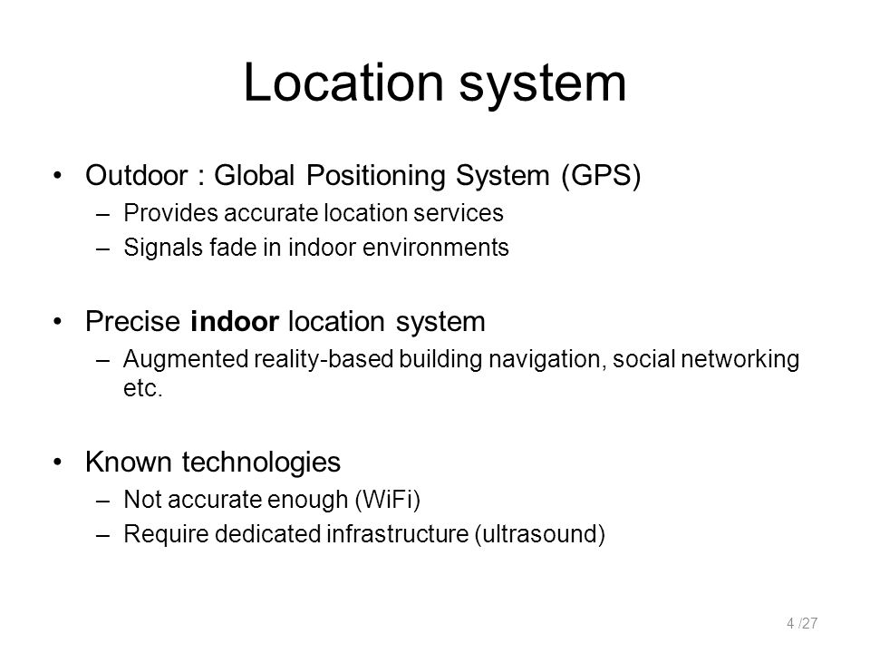 ArrayTrack : A Fine-Grained Indoor Location System Jie Xiong