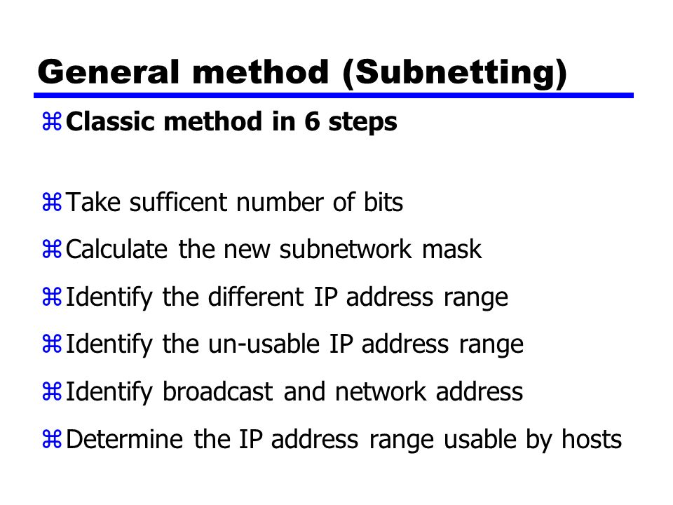 IP Addressing & Subnetting - ppt video online download
