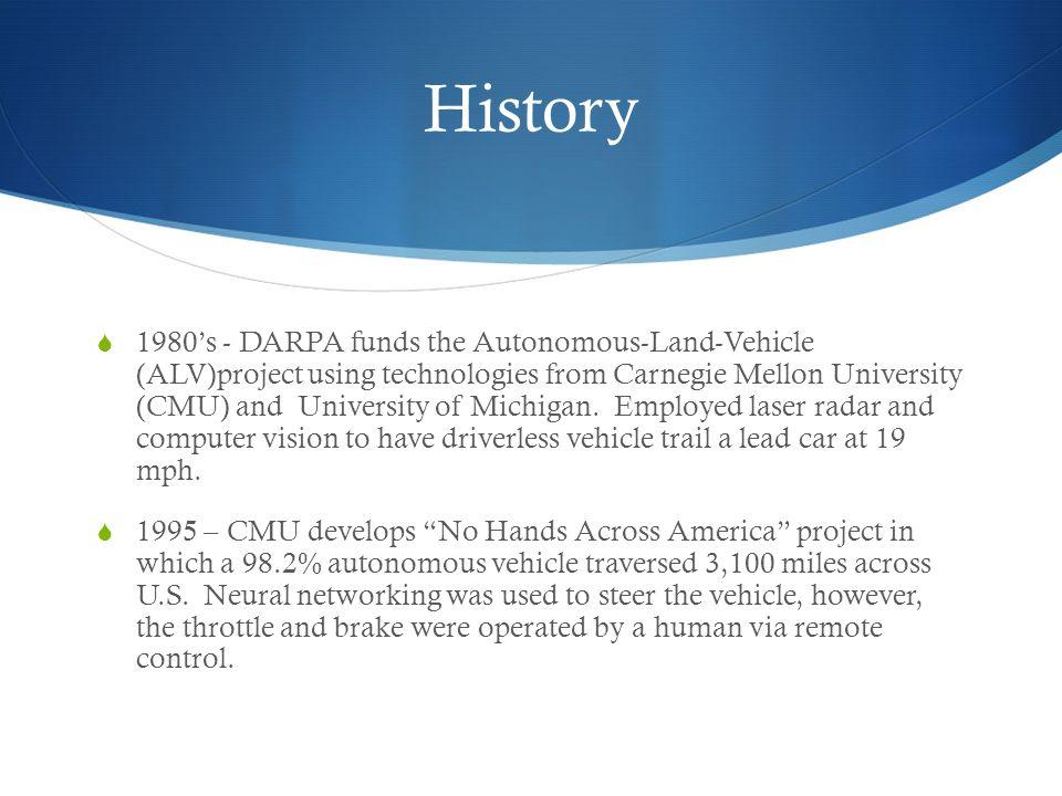 A Look into Autonomous Vehicles - ppt download
