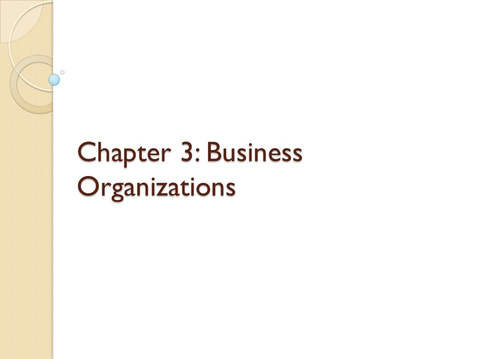 Chapter 3 Business Organizations Ppt Download. 1 Chapter 3 Business Organizations. Worksheet. Chapter 3 Business Organizations Worksheet Answers At Mspartners.co