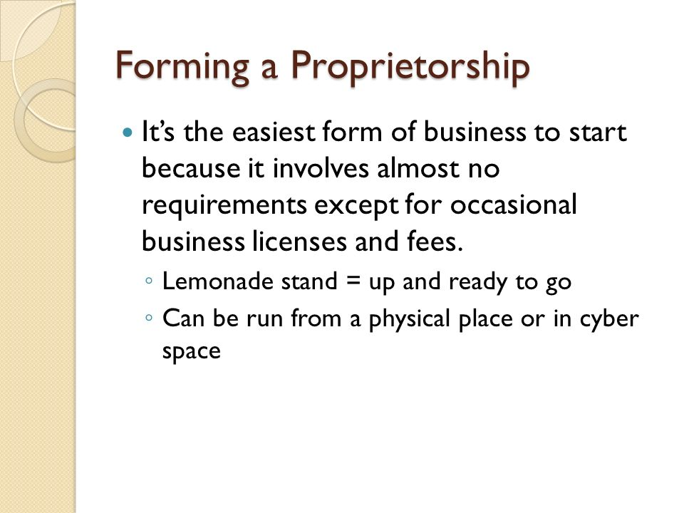 Chapter 3 Business Organizations Ppt Download. 4 Forming A Proprietorship. Worksheet. Chapter 3 Business Organizations Worksheet Answers At Mspartners.co