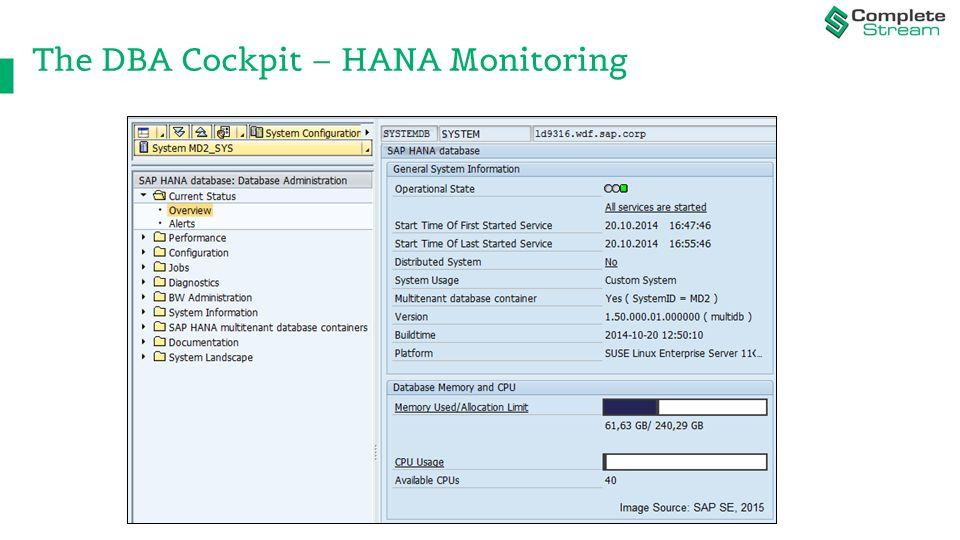 HANA - Best Practices for Modeling, Administrating
