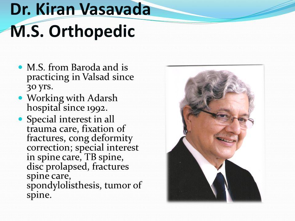 Adarsh Hospital Pvt  Ltd - Valsad - ppt video online download