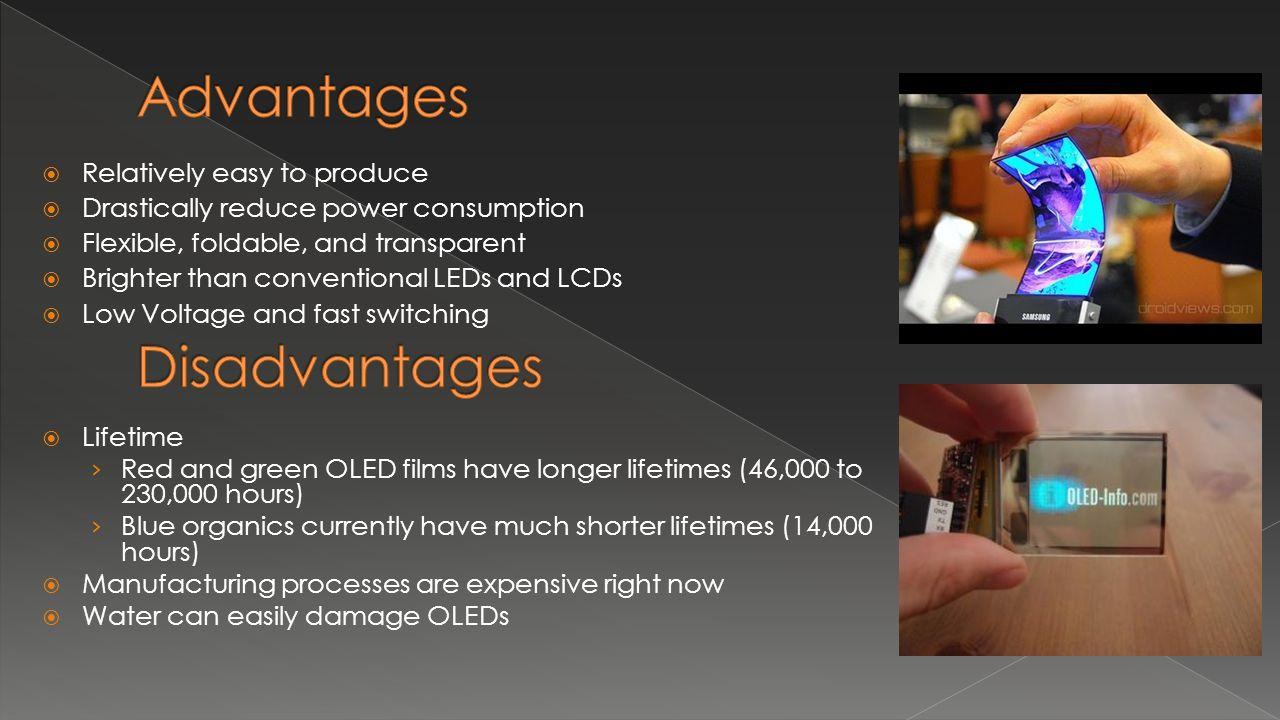 Advantages and Disadvantages of LED Lights