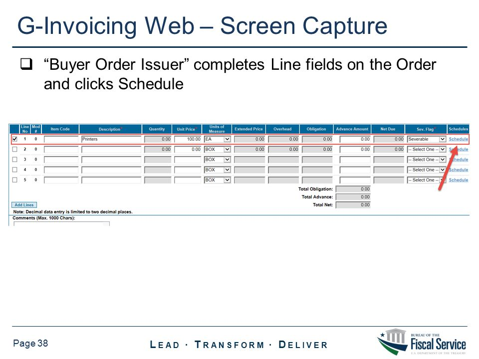 Detailed Demonstration of G‐Invoicing - ppt download