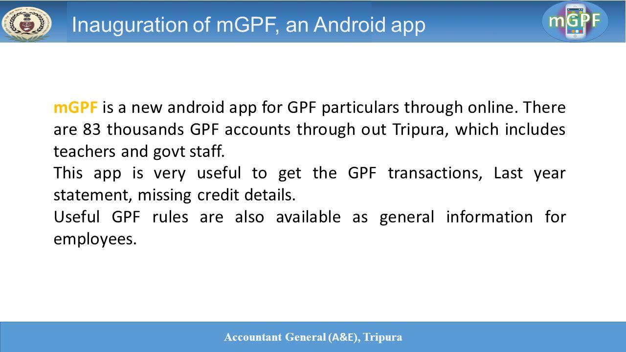 Gpf Statement Online