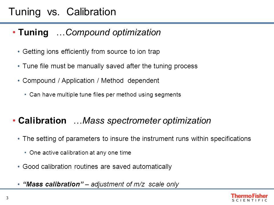 LTQ Orbitrap Series: Calibration, Tuning, Operations - ppt video