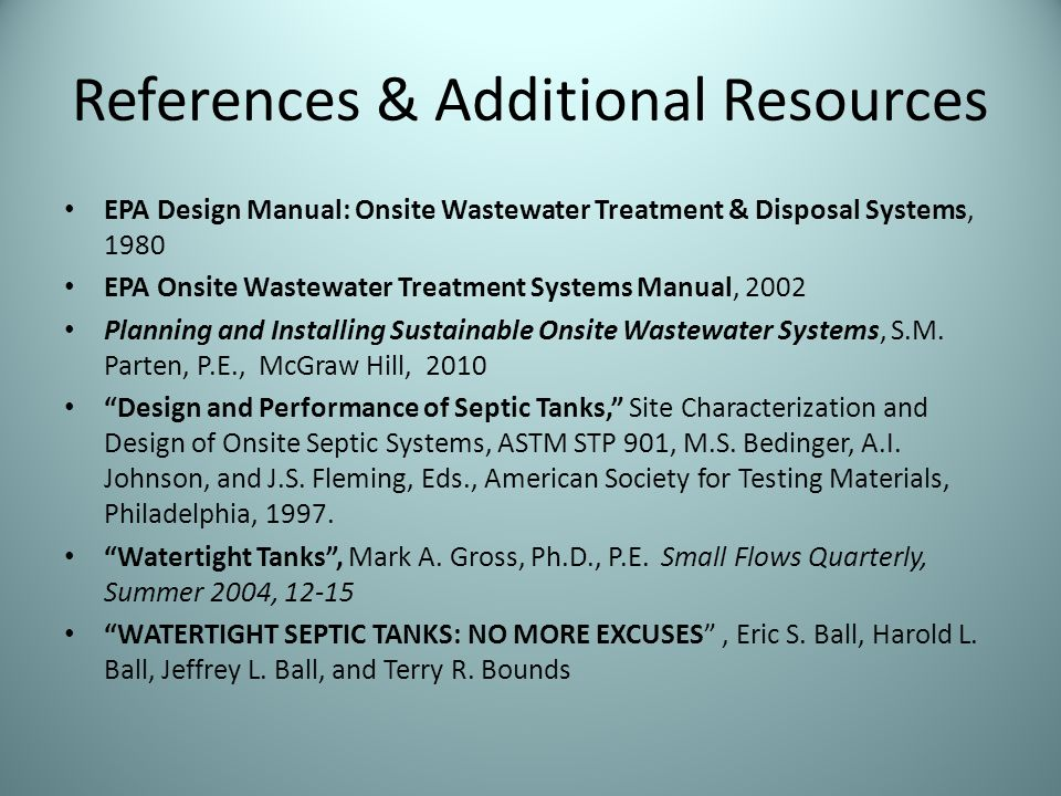 Lets Think Tank Septic Tank Purpose Function Ppt Video Online Download