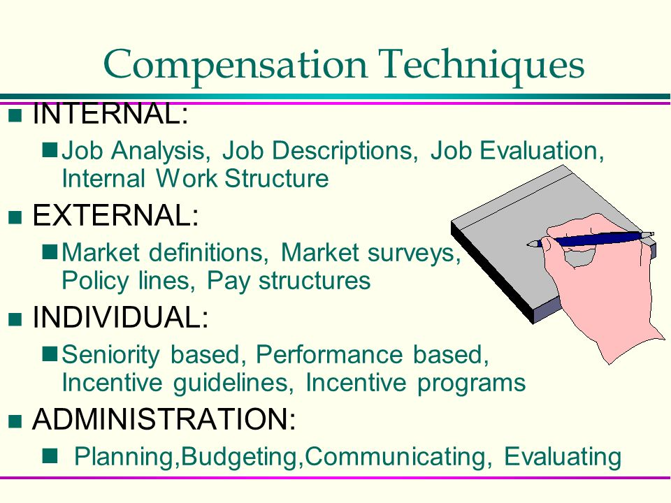 Compensation: A Component of Human Resource Systems - ppt video