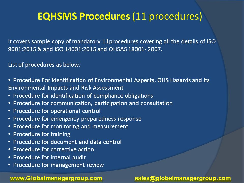 Learn Integrated Management System Documentation Process