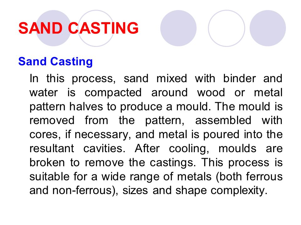 CASTING PROCESS  - ppt video online download