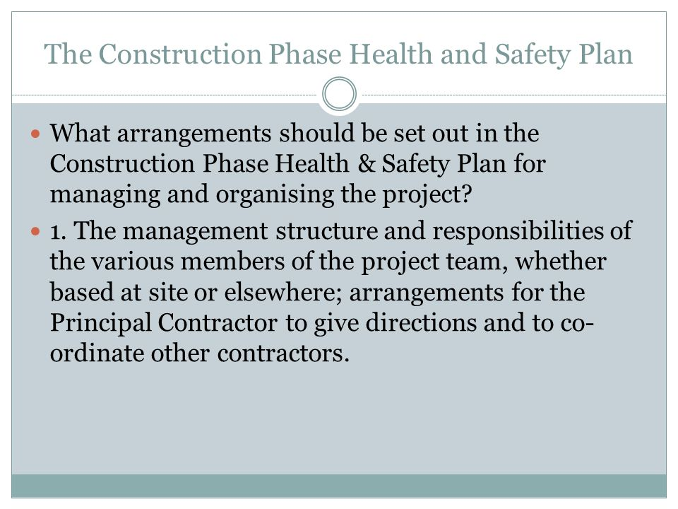 health and safety in construction essay Here are a few areas to consider when protecting personnel in the construction industry.