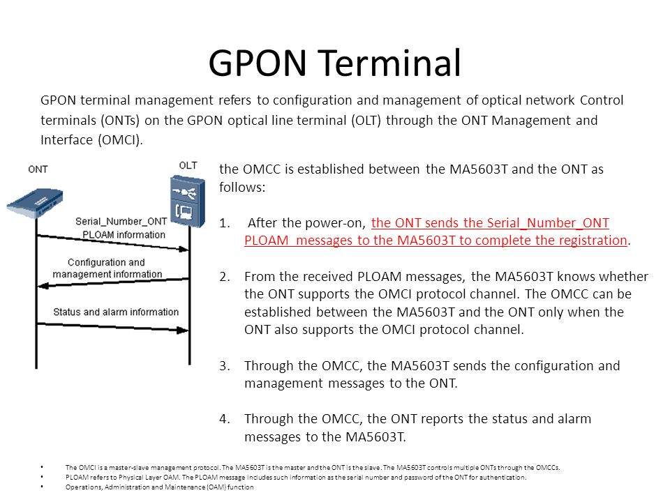GPON Architecture _ Training outline - ppt video online download