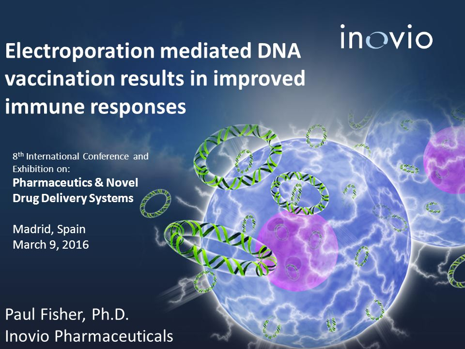 Electroporation mediated DNA vaccination results in improved immune responses