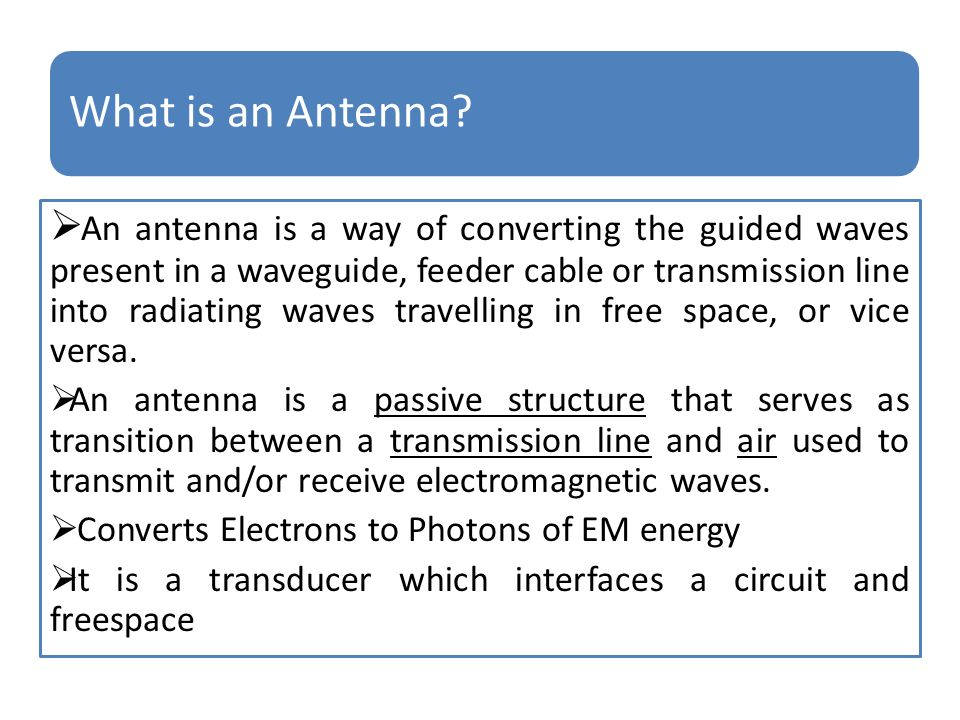 EC6602 ANTENNA AND WAVE PROPAGATION - ppt download