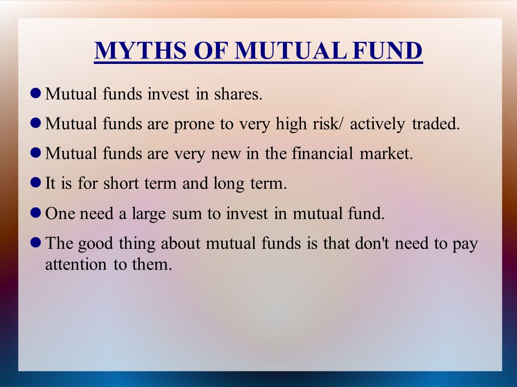 Is it good to invest in mutual funds-9942