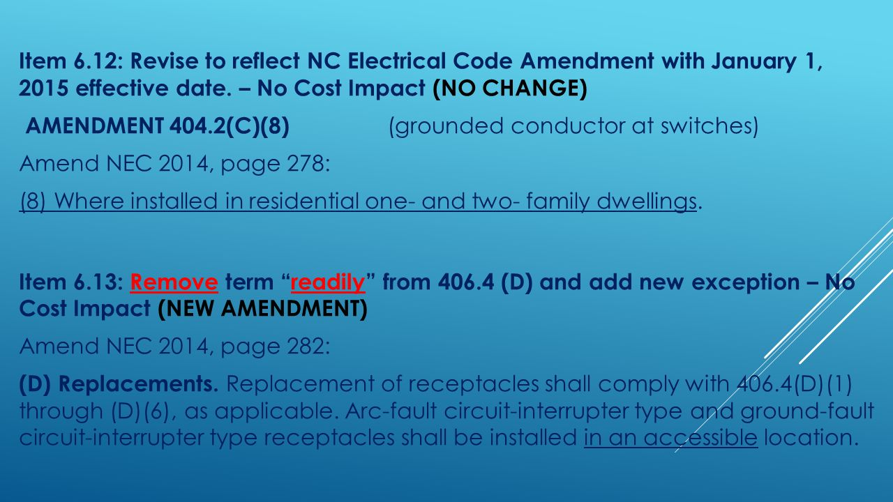 Catching Up With 2014 Nc Electrical Code Updates From Ppt Download Pass Seymour Arcfault Circuit Interrupter Afci 15 Item