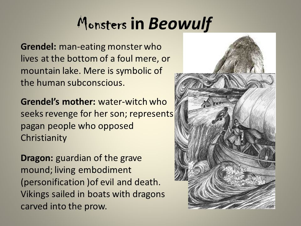analysing the symbolism of christianity in beowulf Even a short summary of the poem, however, reveals beowulf as a type of jesus christ: beowulf, a model king, fights and defeats three beasts, two described as demons and the other a symbol of the devil, over the course of his life.