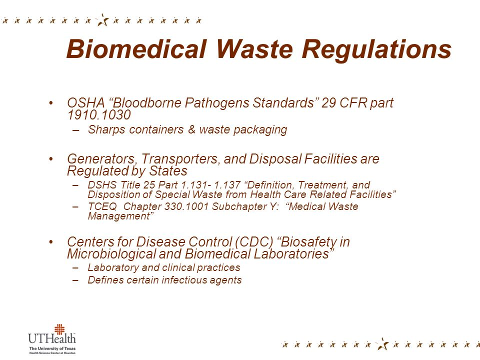 Handling And Disposal Of Infectious Wastes Ppt Video Online Download