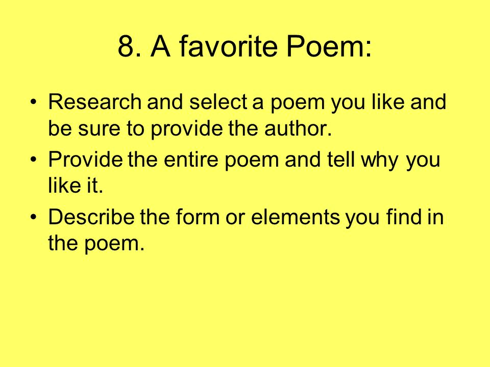 poem about research