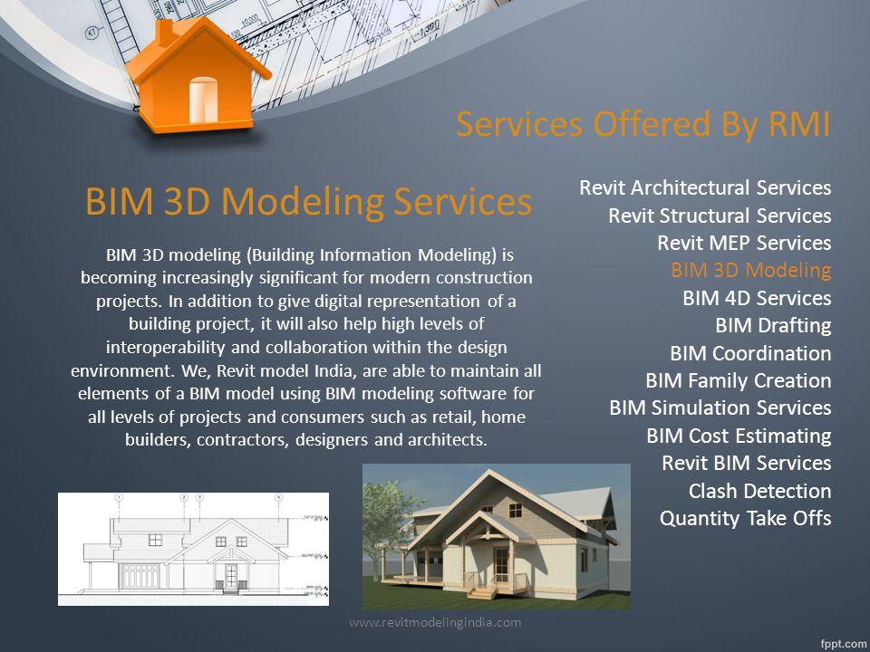 BIM (Building Information Modeling) Revit Services - By