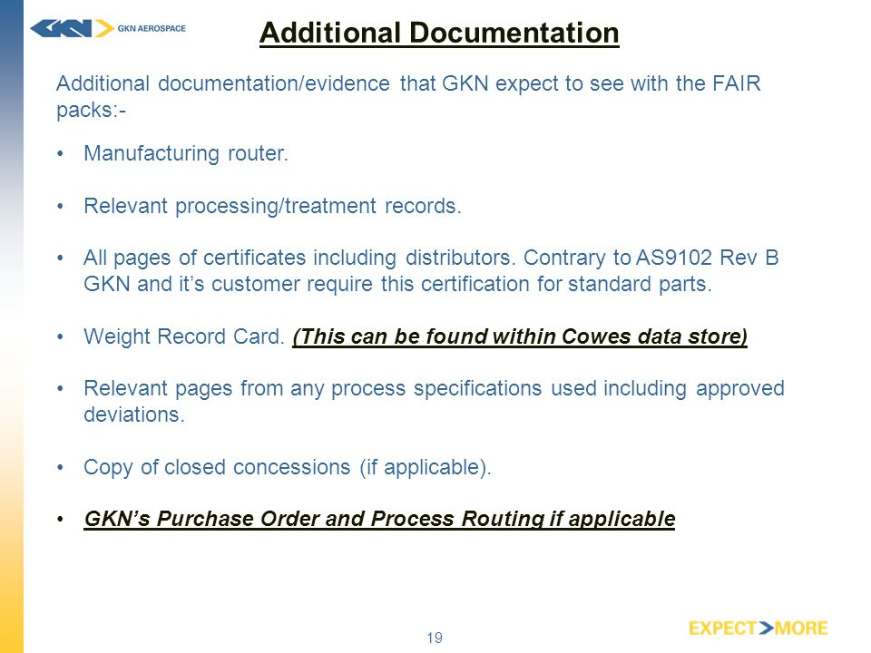 First Article Inspection Reports Fairs Instructions For