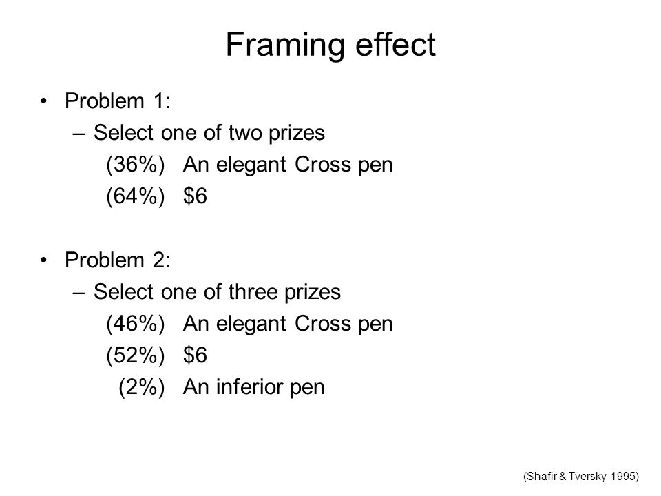 Thinking part II judgment heuristics reasoning decision-making - ppt ...