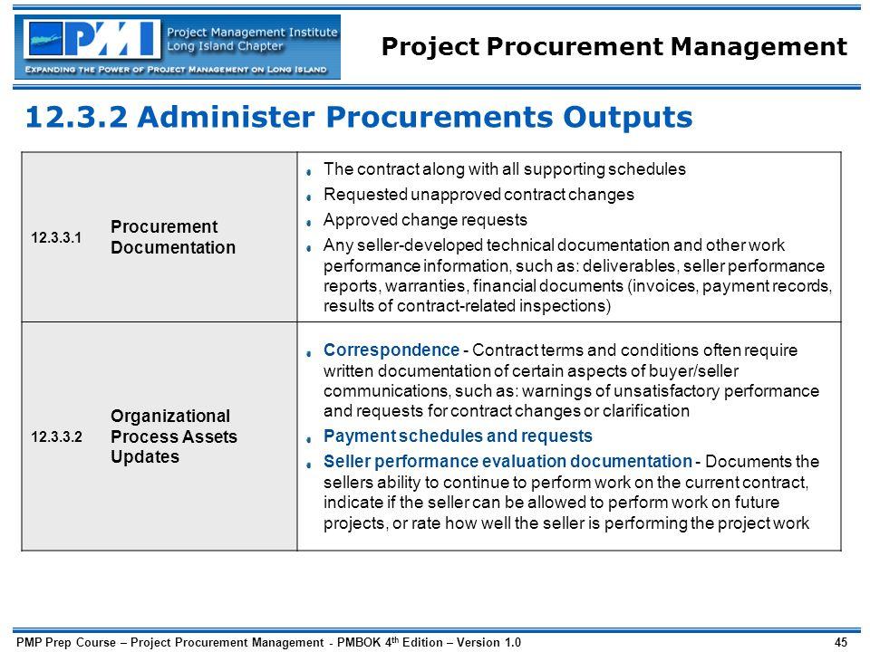 project procurement management a guide to structured procurements pdf