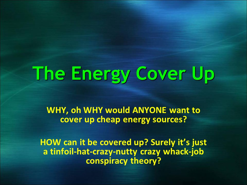 Infinite Energy – But Not For The Masses - ppt download
