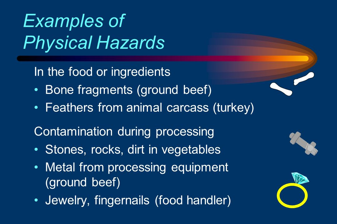 physical hazard in food