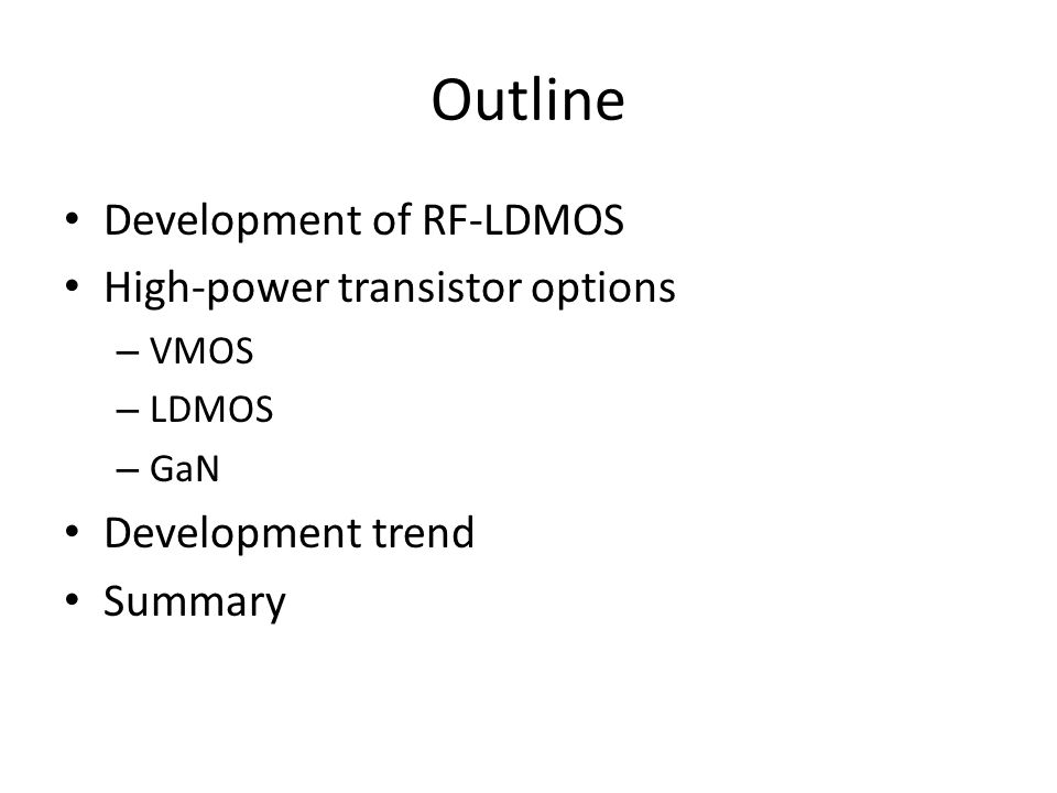 The future of solid-state transistors - ppt video online download