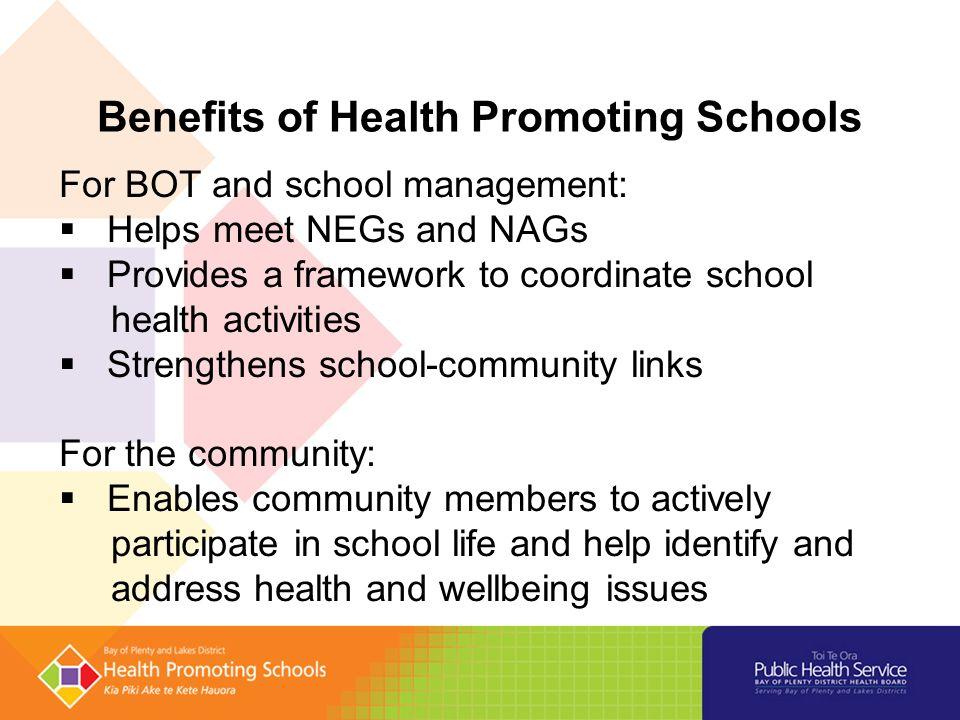 Health Promoting Schoolshealthy Active Living